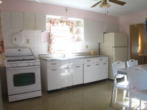 Cost To Remodel A Kitchen: 1955 Time Capsule Ranch Bungalow In St. Louis