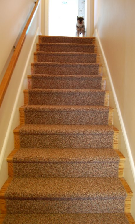 Diy Stair Rail Ideas For Heather S Retro Basement Remodel