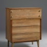 Stanley Furniture Vintage 4 Drawer Gentlemans Chest