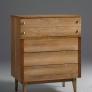 Stanley Furniture Vintage 4 Drawer Gentlemans Chest