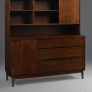 Stanley Furniture Vintage Sliding Door China Cabinet