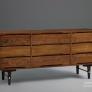 Stanley Furniture Vintage Slotted Triple Dresser