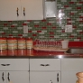 canisters-in-a-red-and-green-vintage-kitchen