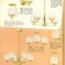 vintage retro chandelier light fixture