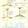 mid century light fixtures