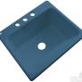 rhapsody blue acrylic sink