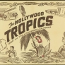 Set de table en papier du Hollywood Tropics des années 1940