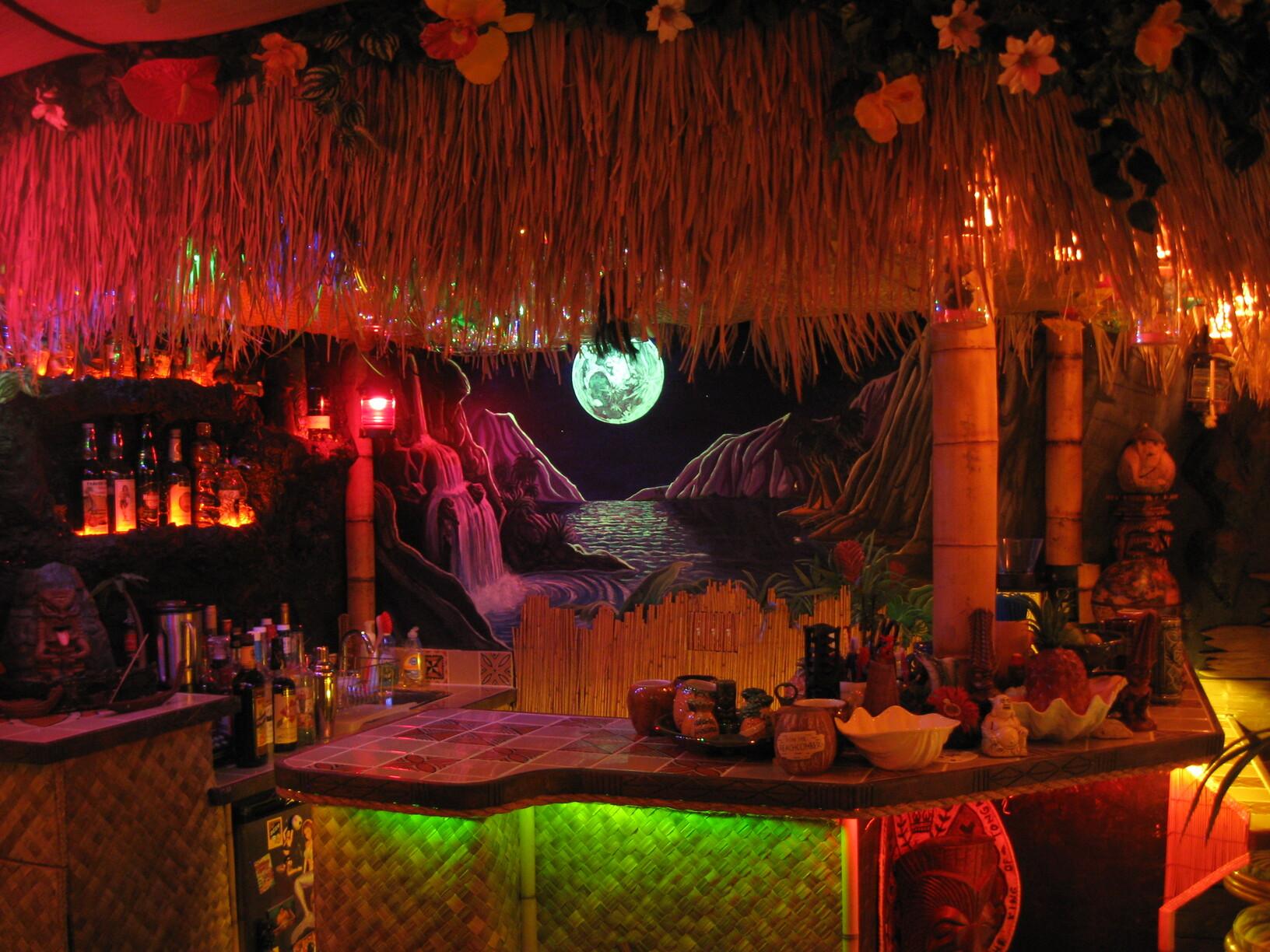 Tiki Bar Decor At Home Readers Photos Of Their Tiki Style