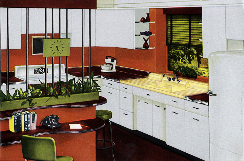 1953 Crane Kitchen Cabinets 26 Photos Complete Catalog Retro Renovation