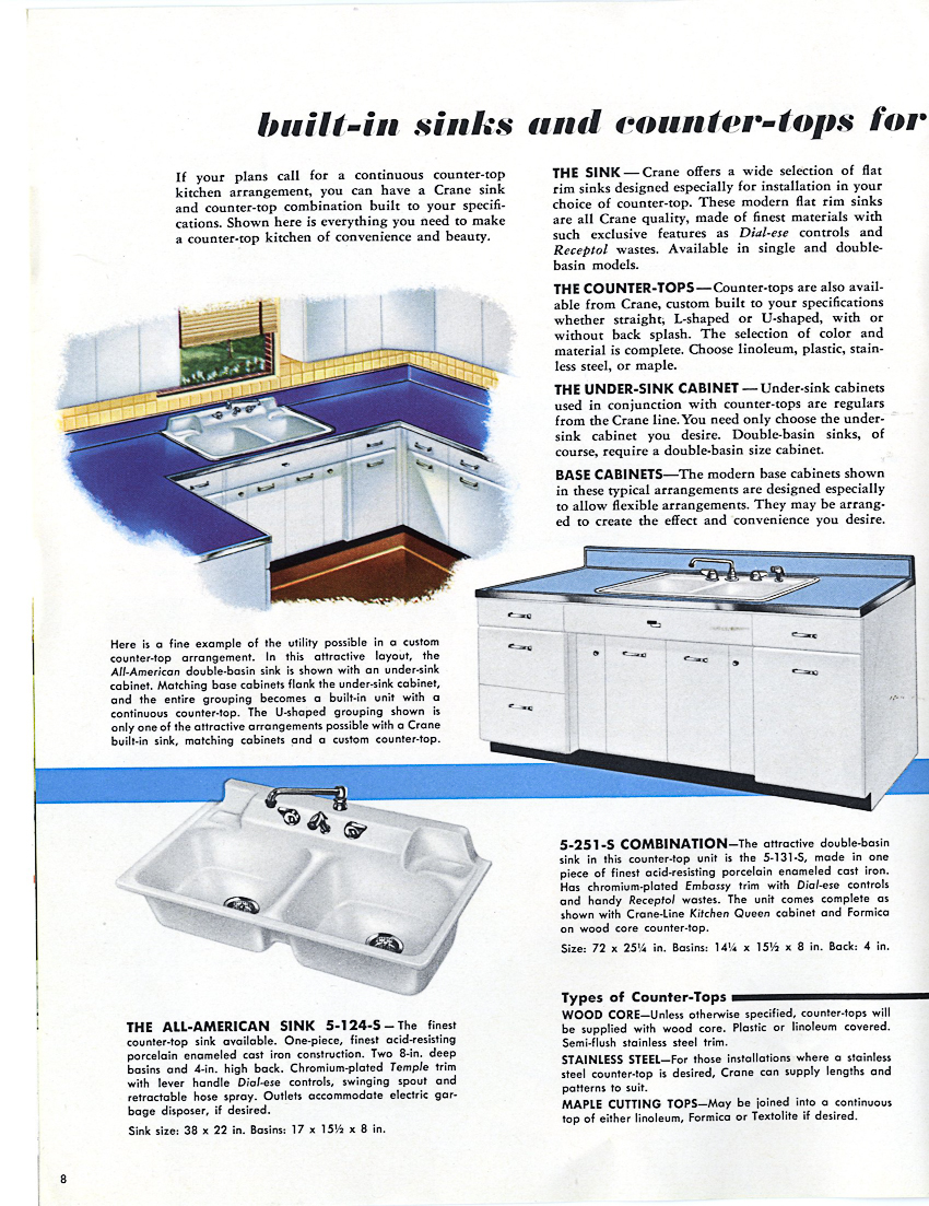 American Made Kitchen Cabinets 1953 Crane Kitchen Cabinets 26 Photos Complete Catalog Retro