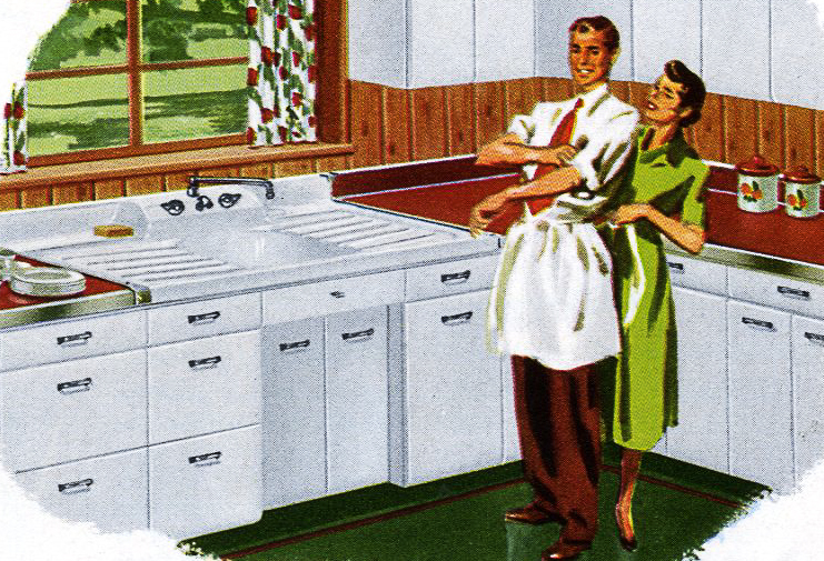 Kitchen Cabinets Vintage 1953 crane kitchen cabinets - 26 photos - complete catalog - retro