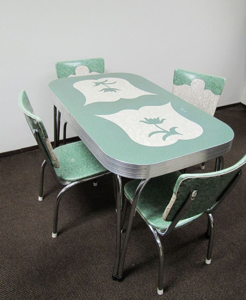 Kitchen Dinette Sets Of 1940s 1950s Home Design On Pinterest Dinette Sets Paper