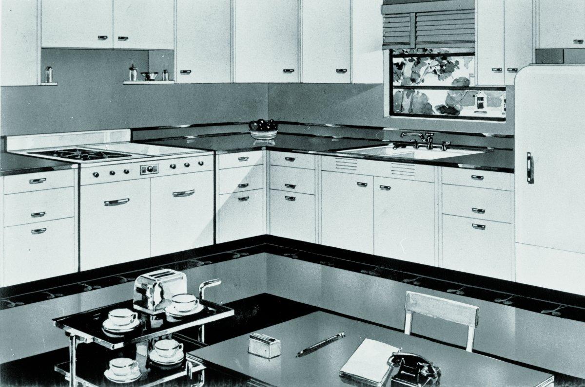 16 Vintage Kohler Kitchens And An Important Kitchen