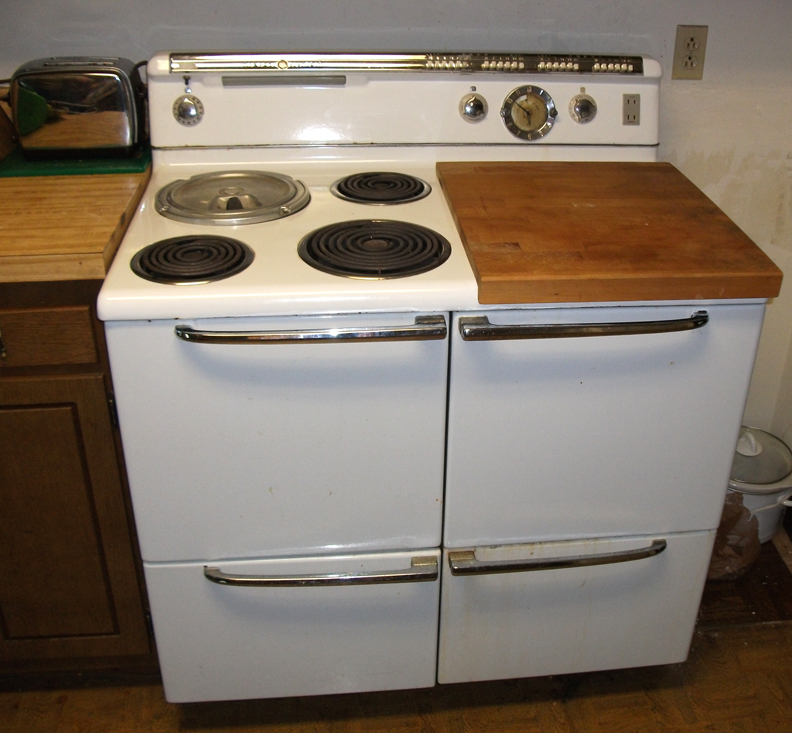 Vintage Fridge: 208 Pictures Of Vintage Stoves, Refrigerators And Large