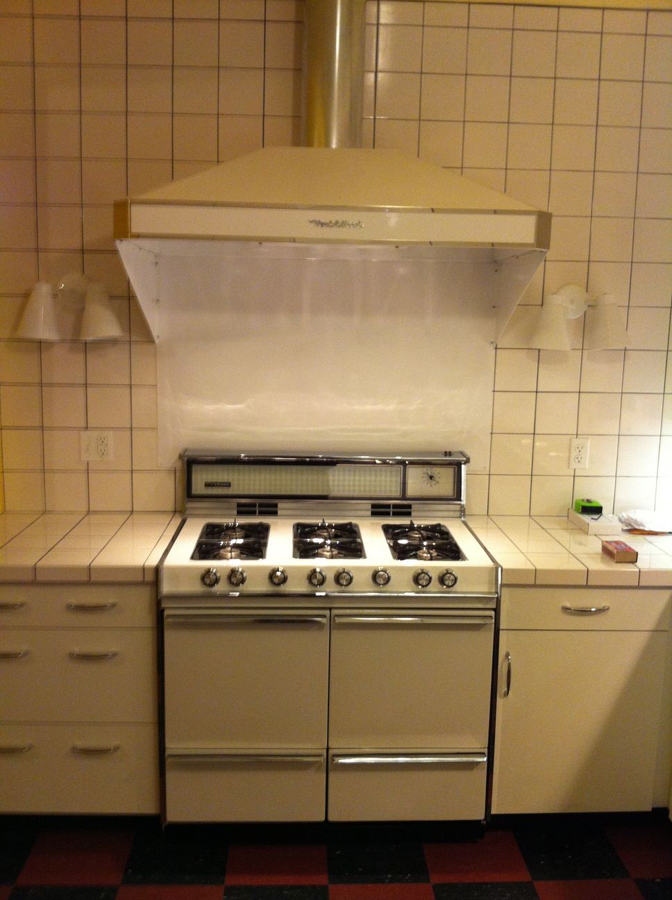 1960s Gas Stove Kenmore Country Kitchen Stove