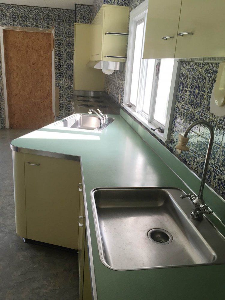 Vintage St. Charles kitchen cabinets - with Thermador ...