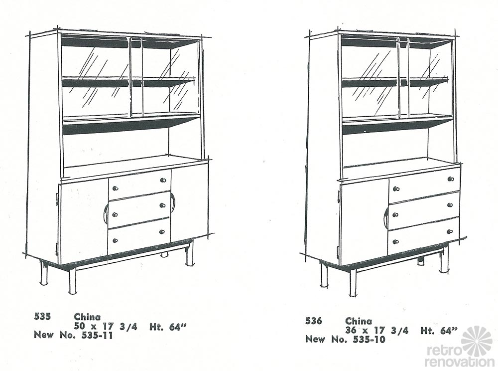 Vintage Stanley Furniture Mix 'n Match line by H. Paul Browning ...