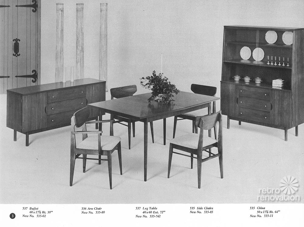 vintage stanley mix n match dining room set. Interior Design Ideas. Home Design Ideas