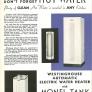 hot water heater in vintage kitchen
