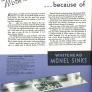 stainless steel integral sink vintage 1940s