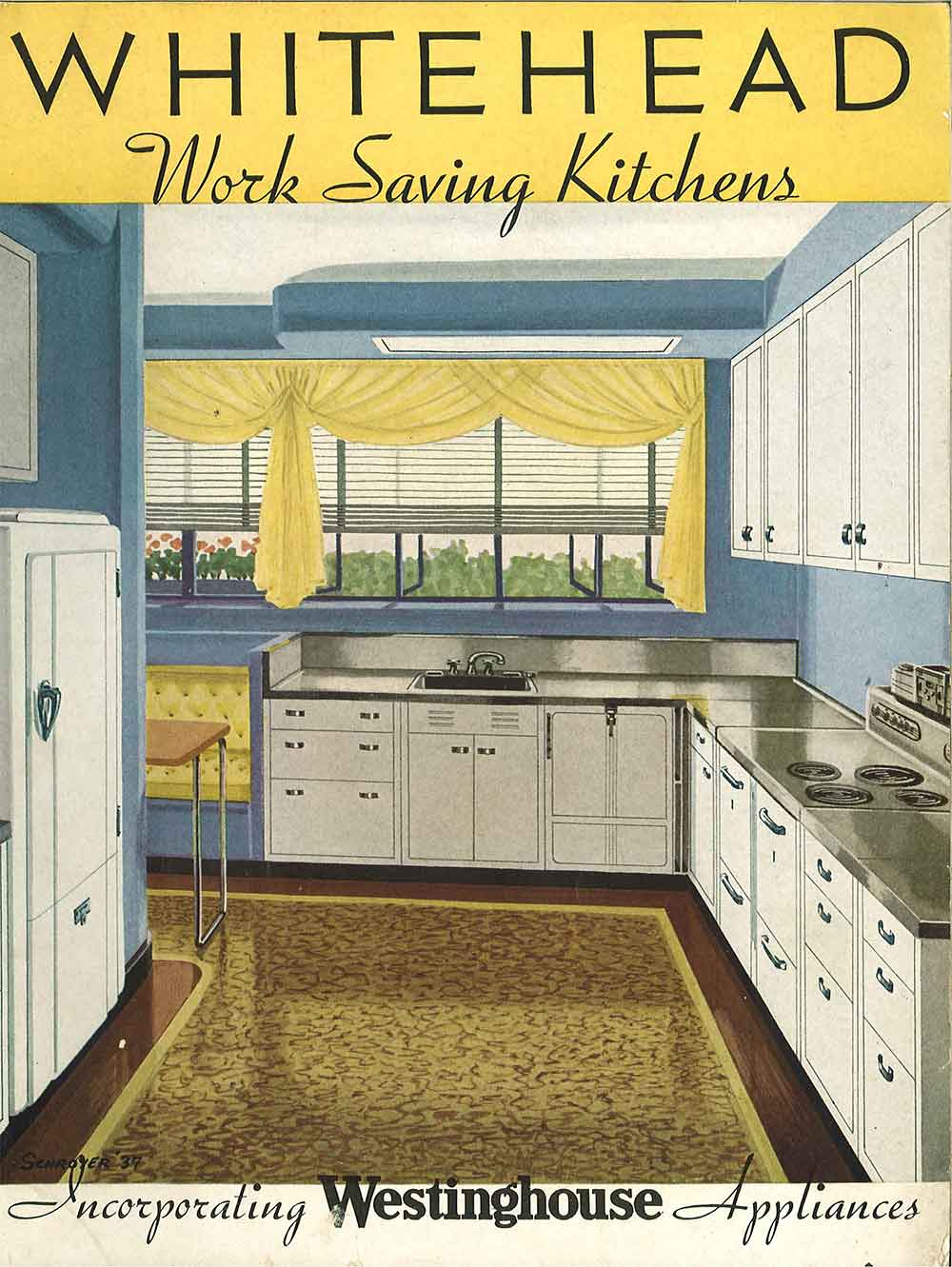 Whitehead Steel Kitchen Cabinets 20 Page Catalog From