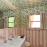 vintage-pink-and-white-stripe-bathroom