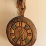 Retro-tiki-clock