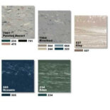 Retro floors – another choice is rubber tile