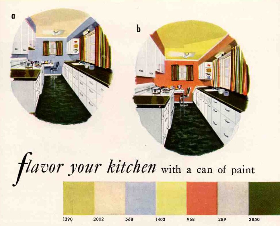 1948 Was A Very Good Year Awesome Retro Kitchens And Cary
