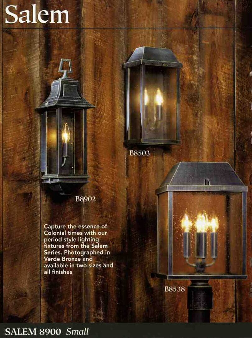 Exterior lighting for your postwar ranch colonial or cape - Exterior landscape lighting fixtures ...