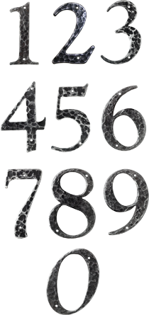 Retro Style House Numbers Perfect For 40s 50s And 60s Ranch Cape