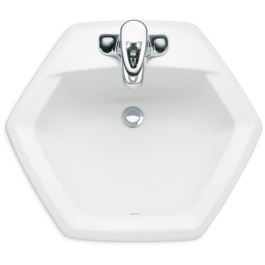 american standard hexagon sink