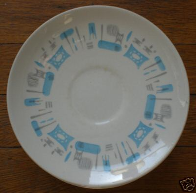 50s And 60s Quot Everyday Quot Dinnerware Blue Heaven For Me