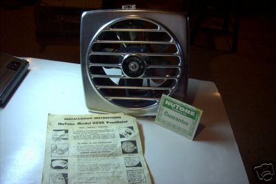 Ordinaire Retro Kitchen Exhaust Fan Mint In Box From Nutone Today S