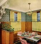 50s kitchen — a cozy little breakfast nook