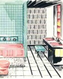 Retro renovating Judi's 1959 bathroom — which includes original pink tile