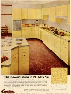 capitol steel kitchen with pebbled finish