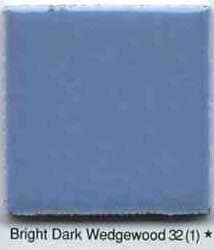 retro dark bright wedgewood tile by ao
