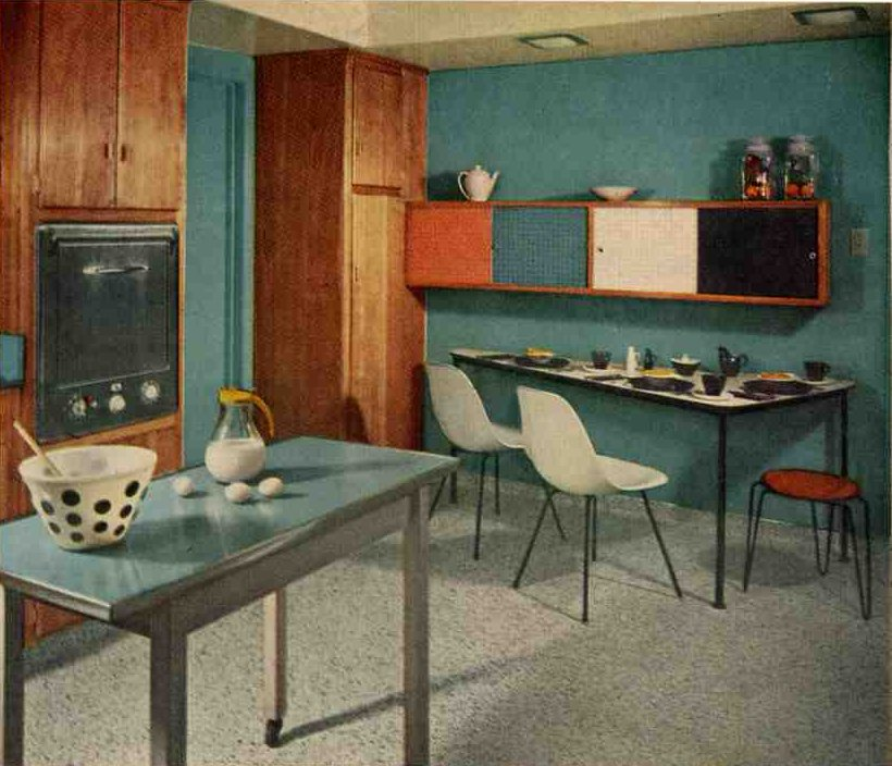 1957 Mondrian kitchen