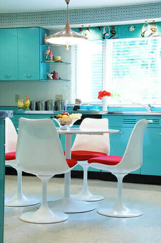 Pam Kueber of Retro Renovation's kitchen