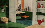 50s bathroom design — an elegant color combo from Universal-Rundle