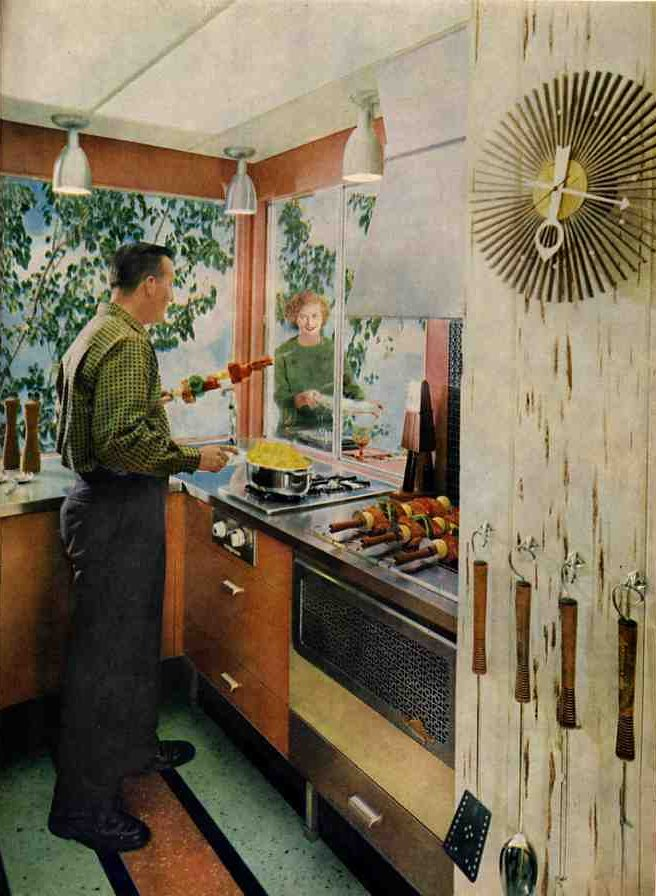 1959 retro kitchen