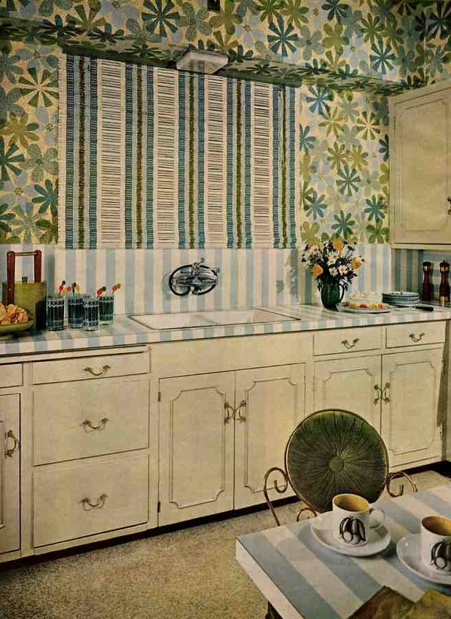 Recreating 50s 60s birch cabinets for your retro kitchen ...