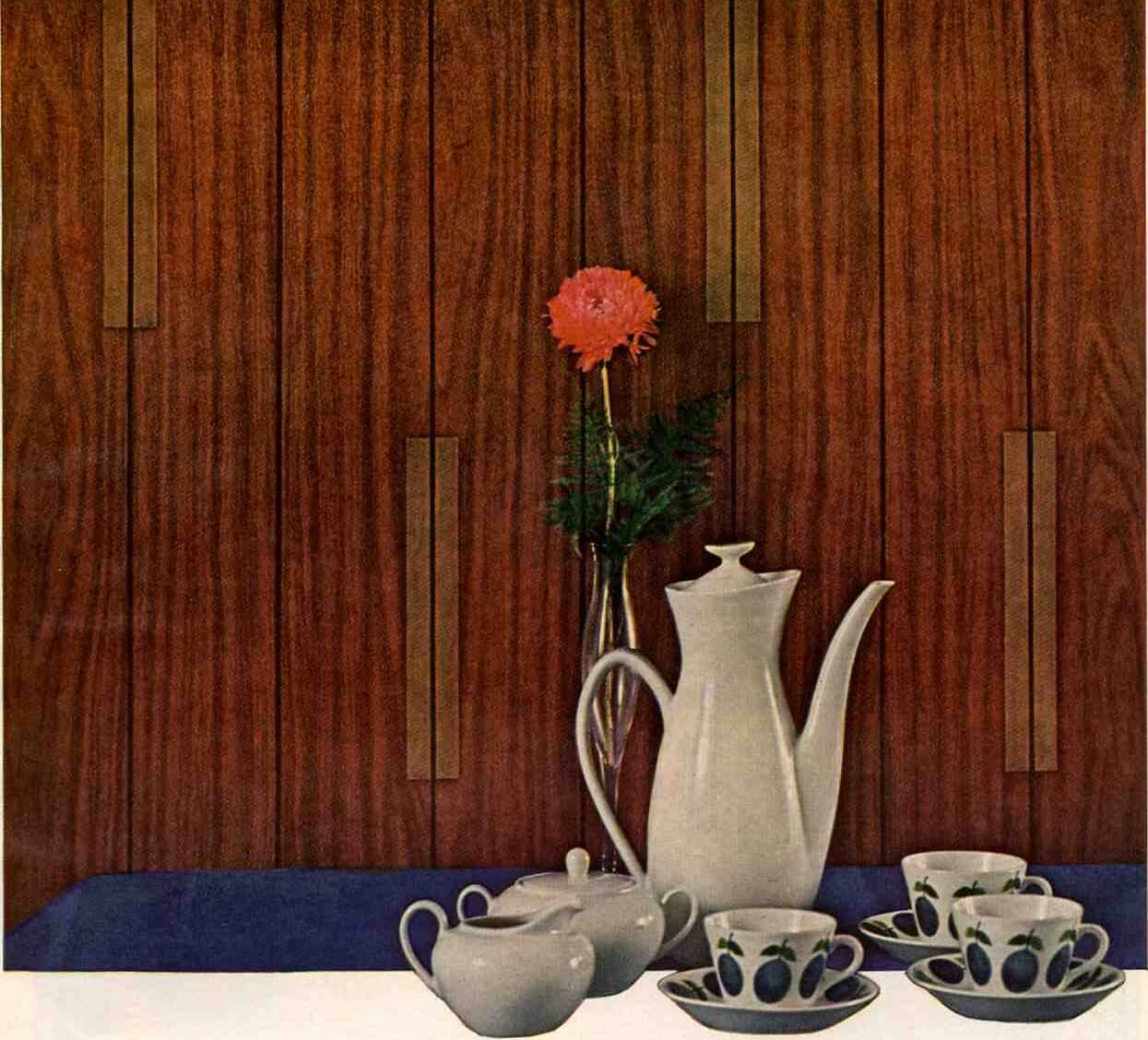 1966 wall paneling