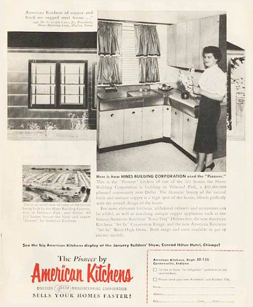 avco american pioneer kitchen 1956