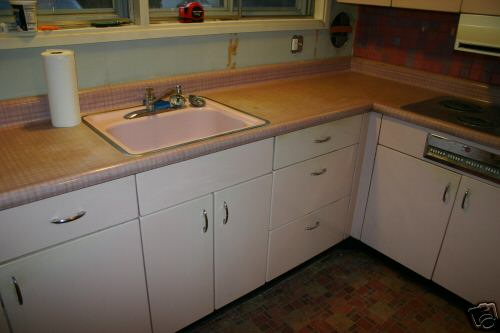 metal kitchen cabinets from Levittown