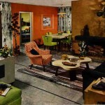 1952 living room dining room by Armstrong