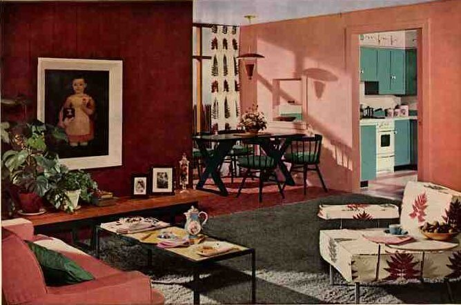 50s living room a wonderful modern interior with the