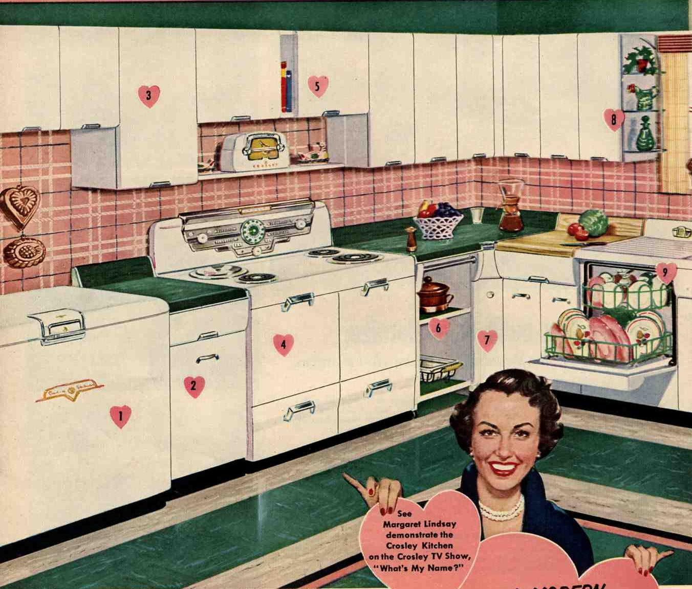 crosley steel kitchen cabinets ideas for and 1953 crosley kitchen retro renovation 14246
