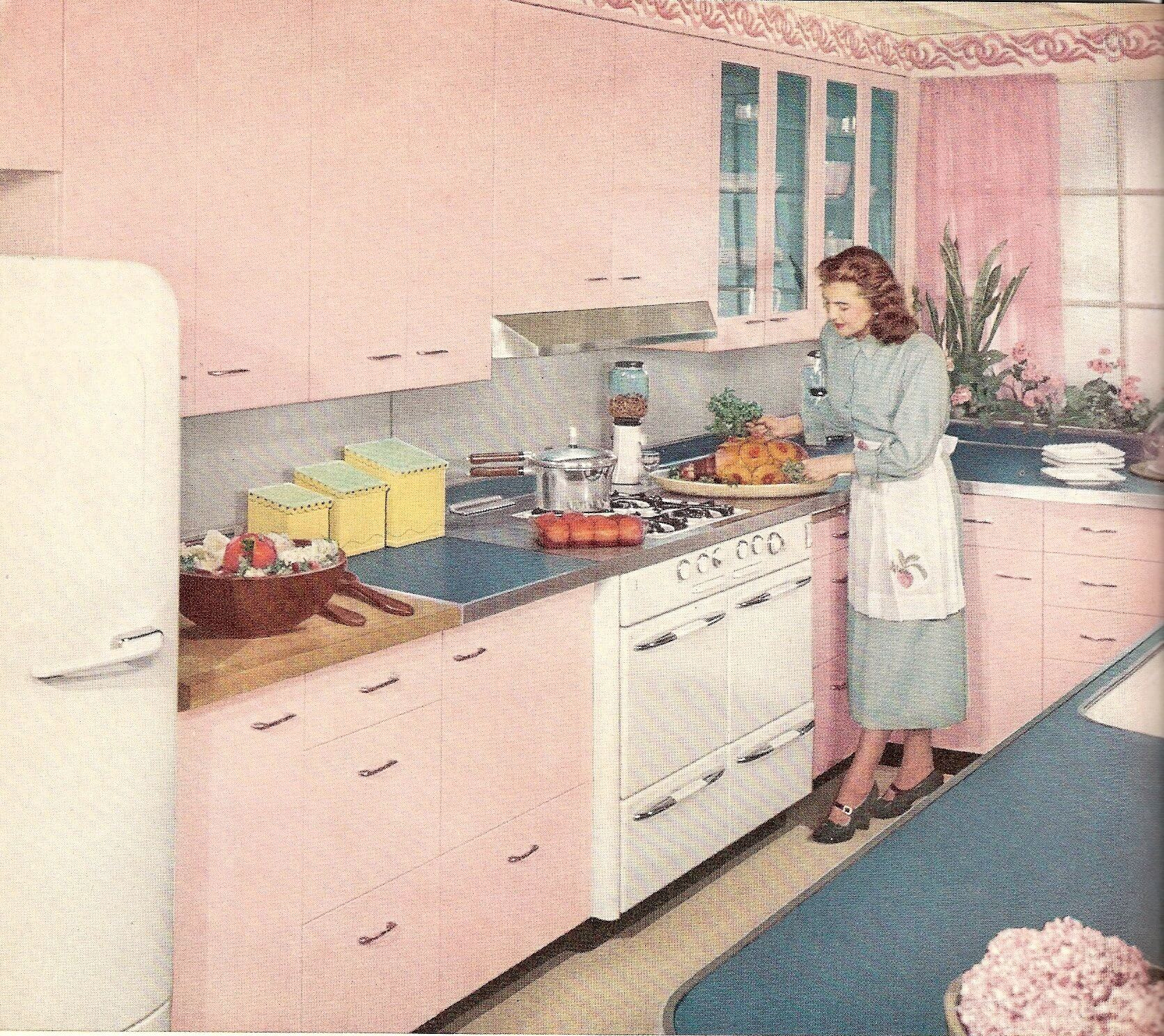 61 Mamie Pink Kitchens Let S Start With 10 From The Big